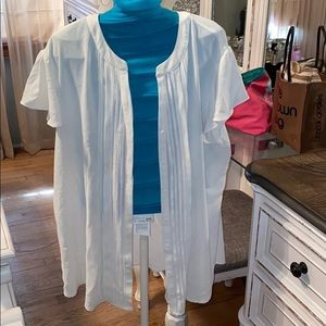 Blouse button down by Sami and Jo size Xl